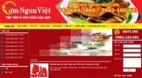 CƠM NGON VIỆT - Thiet ke web - Thiết kế web - Thiet ke website - Thiết kế website - web gia re , web giá rẻ , website giá rẻ