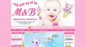 Thế giới mẹ và bé - Thiet ke web - Thiết kế web - Thiet ke website - Thiết kế website - web gia re , web giá rẻ , website giá rẻ