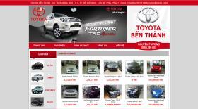 Toyota Bến Thành - Thiet ke web - Thiết kế web - Thiet ke website - Thiết kế website - web gia re , web giá rẻ , website giá rẻ