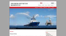 Tổng hội địa chất Việt Nam - Thiet ke web - Thiết kế web - Thiet ke website - Thiết kế website - web gia re , web giá rẻ , website giá rẻ