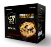 Cafe Trung Nguyên - G7 2in 1