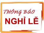 Lịch nghỉ lễ Quốc Khánh 2-9-2017