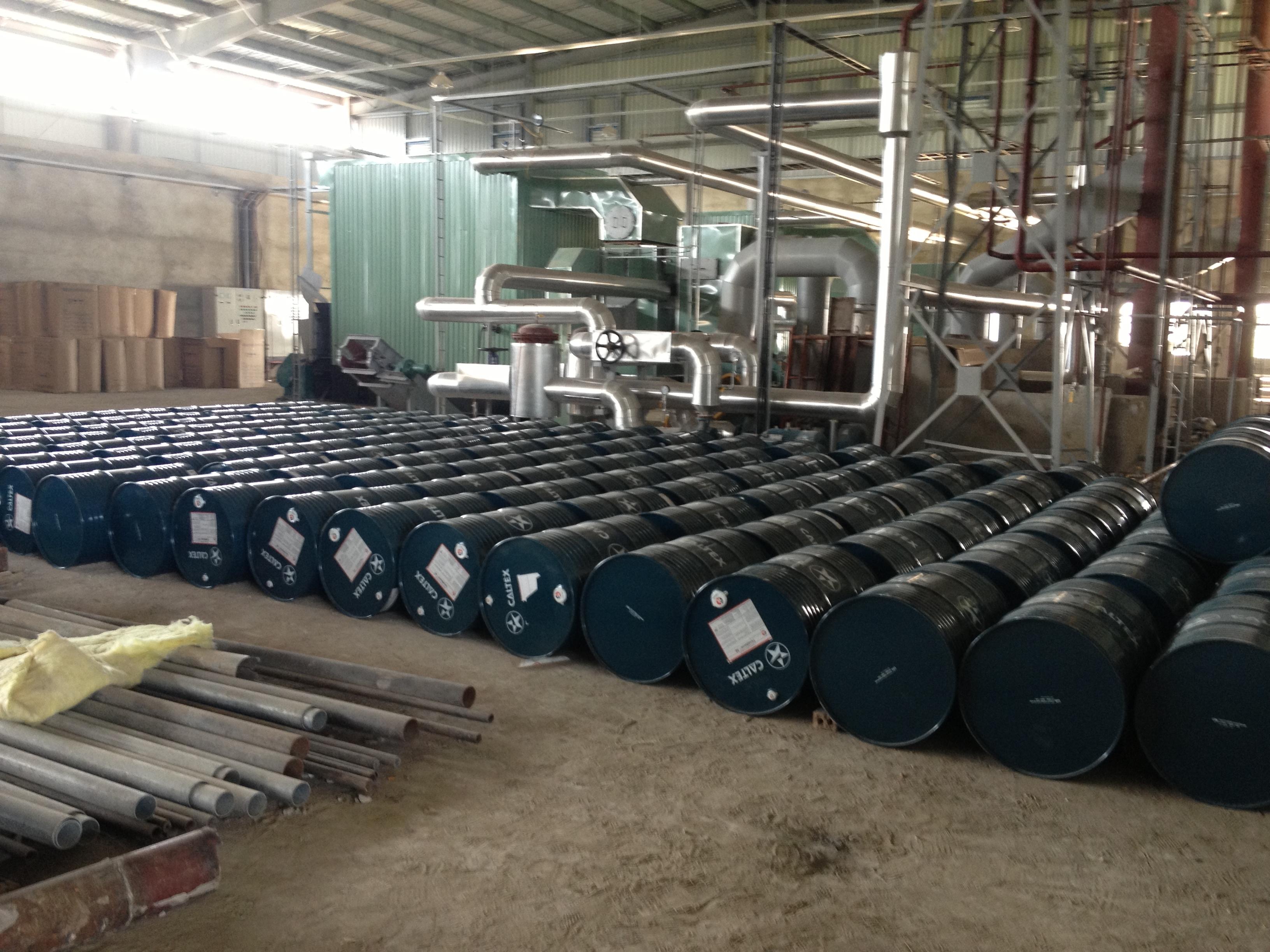 Công ty CP XNK Kim Việt cấp dầu truyền nhiệt Texatherm 46 cho Tập đoàn công nghiệp Hàn Quốc