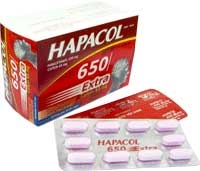 Hapacol 650 extra