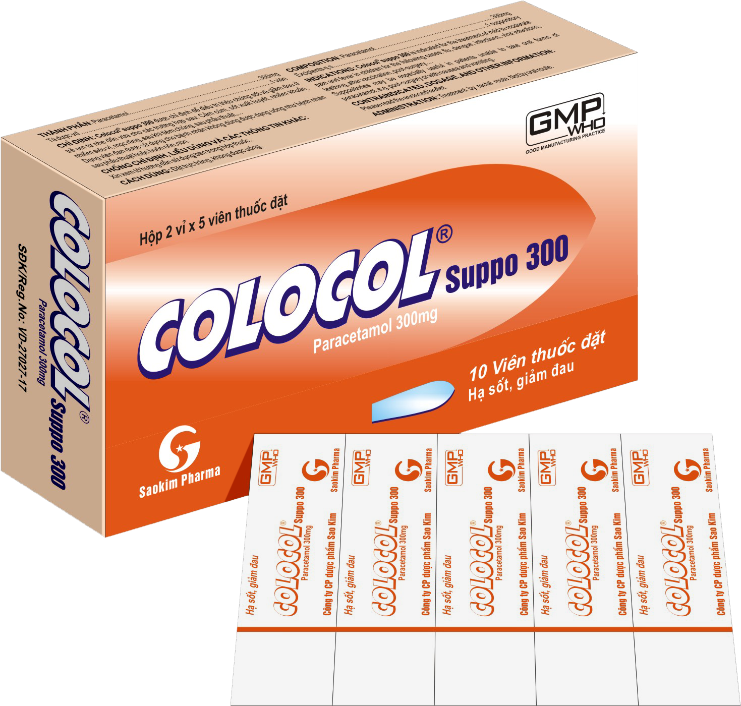 COLOCOL SUPPO 300