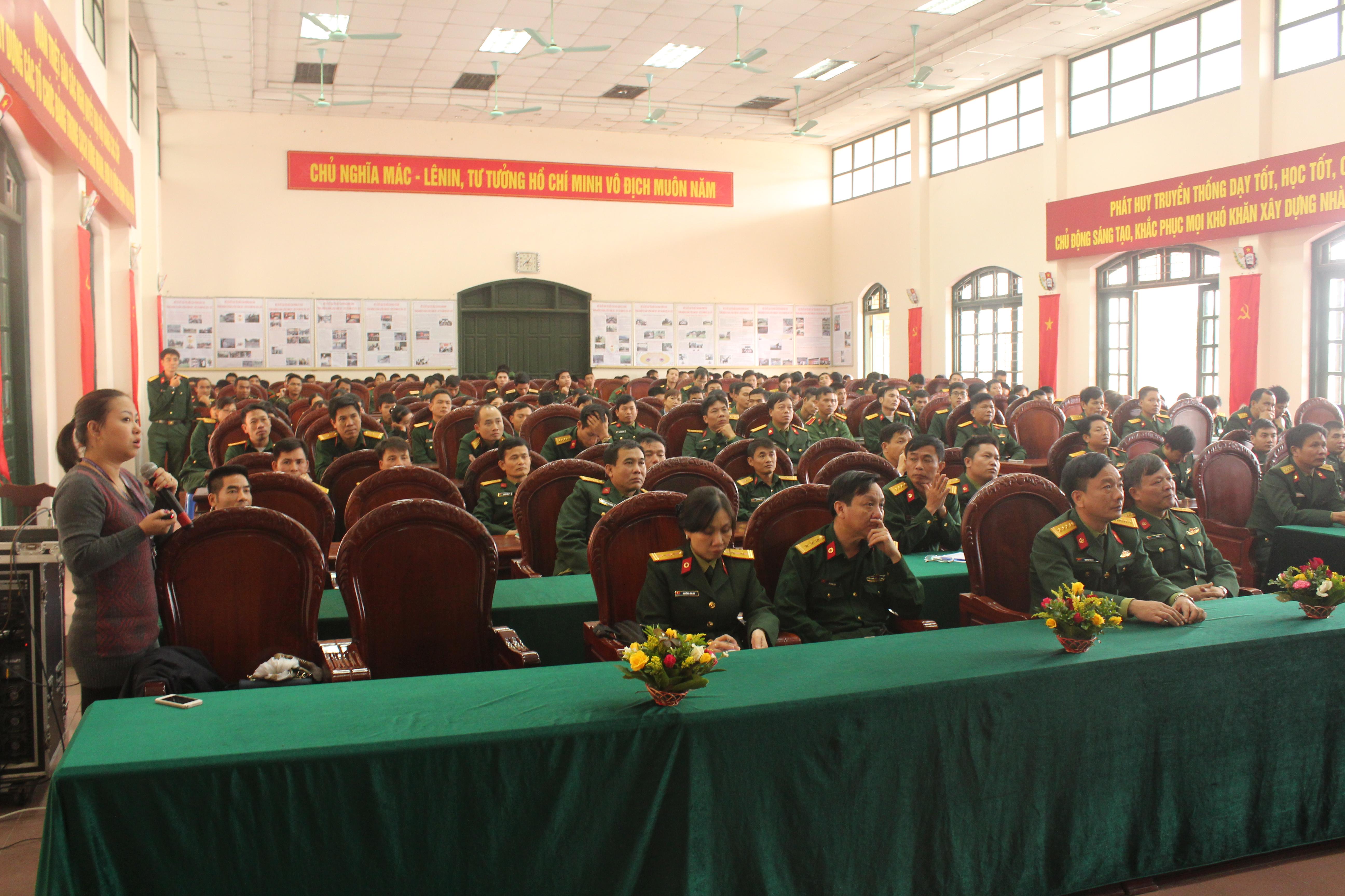 Tổng hợp công tác huấn luyện của Nhà trường