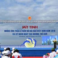 Hưởng ứng Tuần lễ Biển hải đảo Việt Nam và Ngày Đại dương thế giới 2016