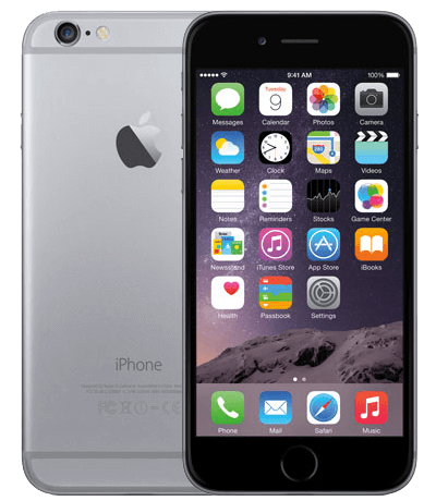 Iphone 6 Plus  - 16GB ( đen trắng ) 99%