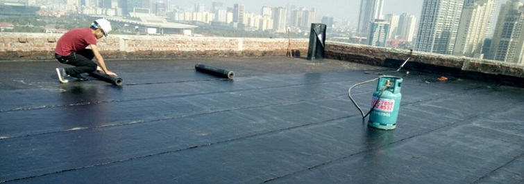 Khò màng chống thấm mái công trình
