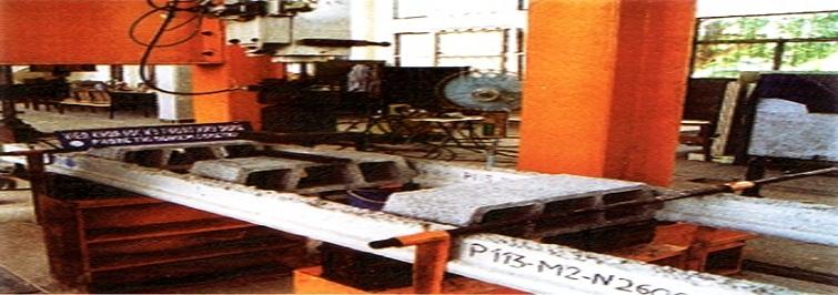 Kiểm tra chất lượng Dầm bê tông dự ứng lực và viên Block sàn trước khi xuất xưởng