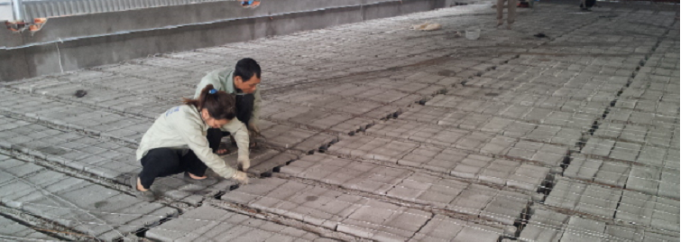 SÀN BÊ TÔNG NHẸ - BÊ TÔNG LẮP GHÉP XUÂN MAI Công trình nhà hàng 168 Trần Duy Hưng