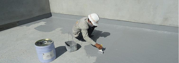 Sơn chống thấm công trình bằng Hóa chất hai thành phần
