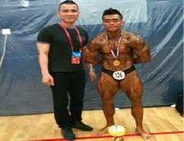 Ảnh thi đấu tại Giải Vô địch thể hình và Fitness Châu Á năm 2012  từ ngày 19đến 24/9 tại Quảng Châu